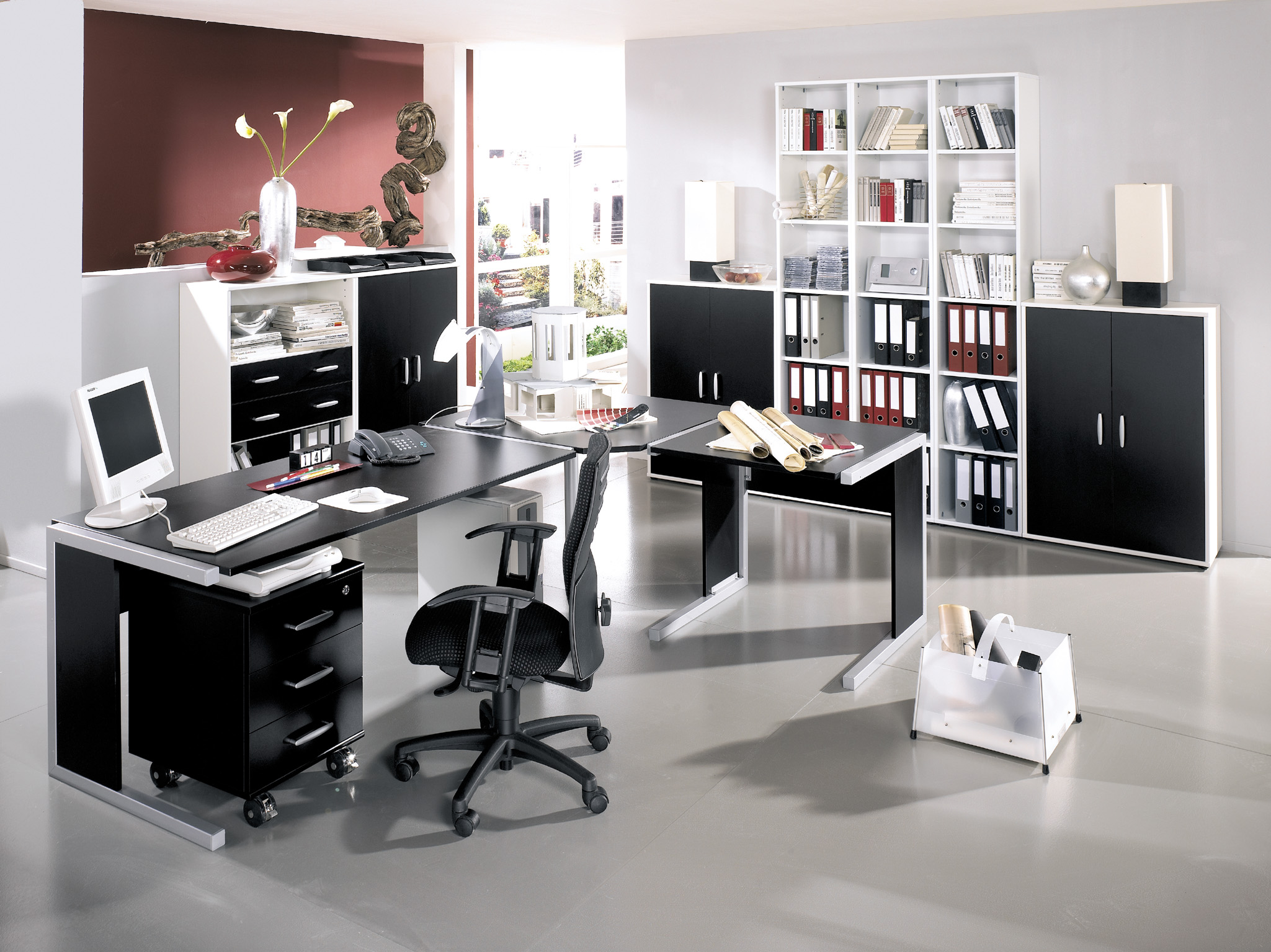 Contemporary Home Office Design Ideas: Four Top Tips For Furnishing An Office