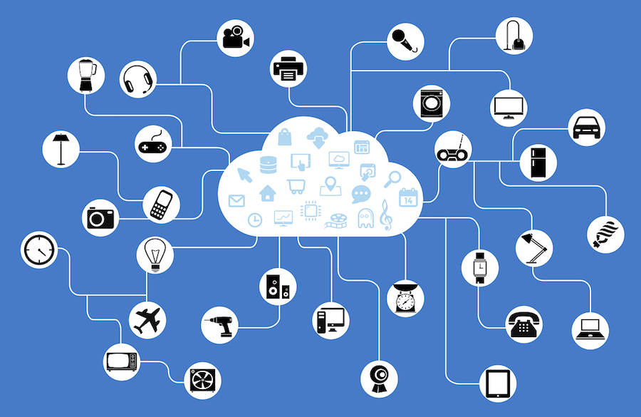 internet of things visualistion using icons