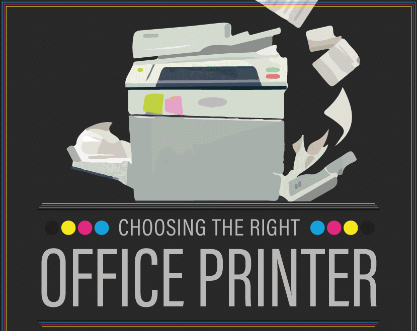 How to Choose the Right Office Printer [Infographic