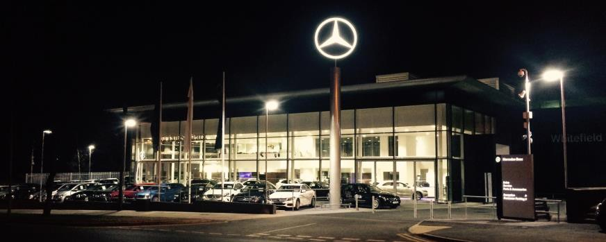 Mercedes benz dealership opts for mps from officexpress for Mercedes benz dealers manchester