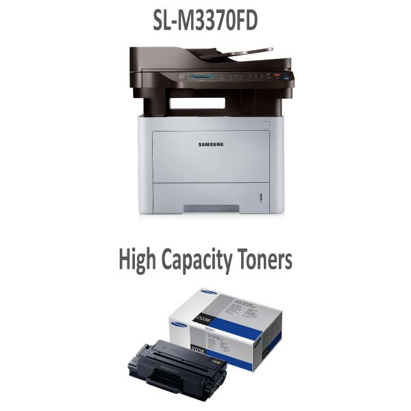 SLM3370FD Printer and Extra High Capacity Toner